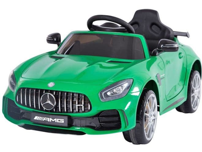 Mercedes Benz AMG GTR Green | Childs Sit In & Ride On Toy Car 12v Electric | TOY&MODEL