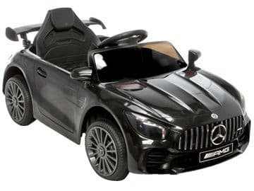 Mercedes Benz AMG GTR Official 12v Electric Ride on Car Black with Remote Control