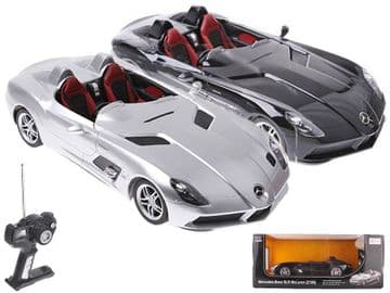 Mercedes Benz SLR Mclaren Z199 Radio Control 1:12 Scale Official RC Model Toy Super Car