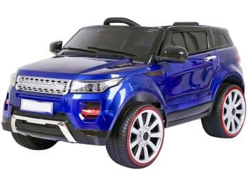 Midi Range Rover HSE Style Ride on Jeep 12v electric with Parental Radio Control Blue