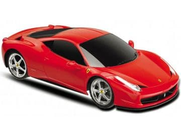 Radio Control Car Ferrari 458 Italia Supercar In Red 1:18 Scale Official RC model