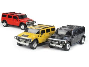 Radio Control Hummer H-2 SUV 1/27 Scale Official RC Model