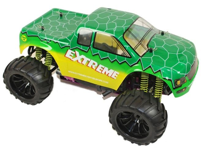 TOYANDMODELSTORE: Radio Control Nitro RC Cars gas petrol powered off road monster truck