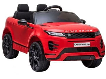 Range Rover Evoque Licensed 12v Electric Ride on Car Red with Parental Control
