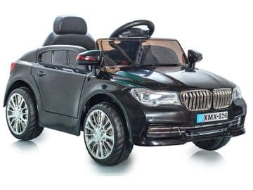 Ride on Car 12v Electric BMW X5 Style Sports SUV Black Colour with Parental Radio Control