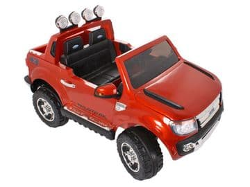 Ride on Car 12v Electric Ford Ranger SUV Fully Licensed Model Orange