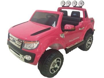 Ride on Car 12v Electric Ford Ranger SUV Official Model Pink with Parental Control