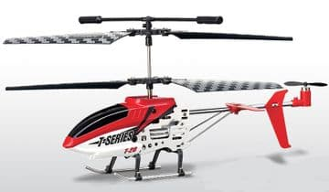 T20 i-Heli Remote Control Helicopter 3ch IR with Gyro and Metal Frame RTF