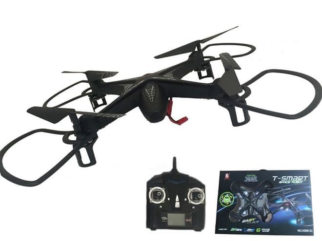 TOYANDMODELSTORE: Quadcopter rc drone remote radio controlled flying toy gadget rtf