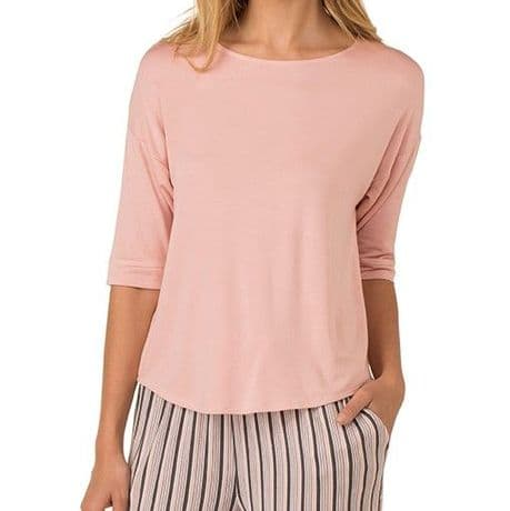 DKNY 3/4  Sleeve Top - Pink