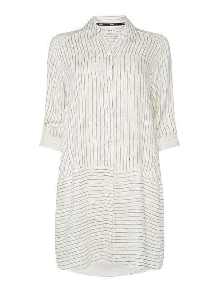 DKNY Checked In Sleepshirt - White