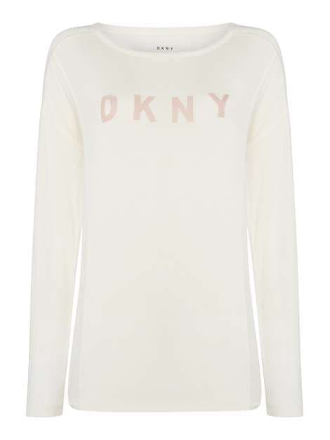 DKNY Elevated Leisure Sleep Top - Winter White