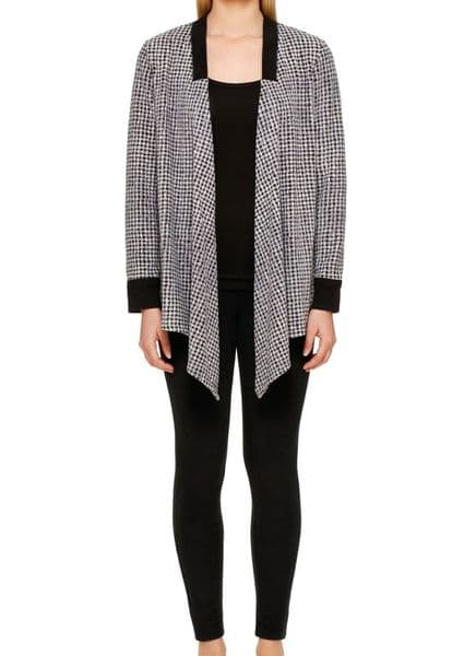 DKNY Stretch Cozy Set - Black Basketweave