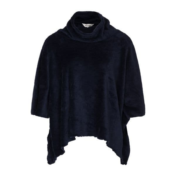 Lingadore Demi Coral Fleece Poncho - Dark Blue