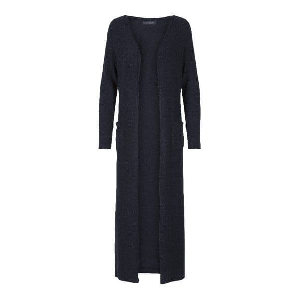 LingaDore Mood Indigo Wooly Robe - Dark Blue