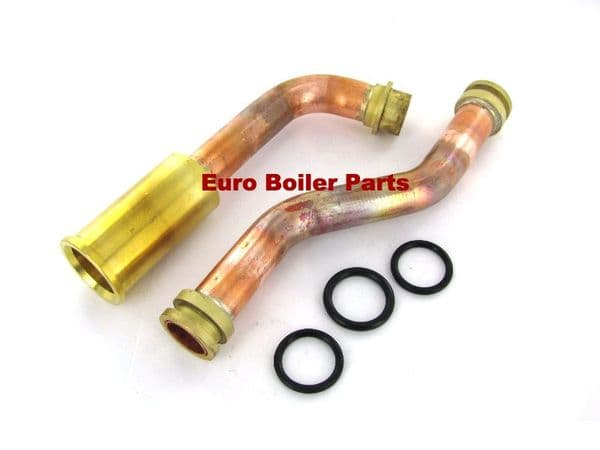 VL.326 VAILLANT ECOTEC CONNEC.PIPE HEAT EX.TO PIPE 0020068956 0020068957 180947 Compatible