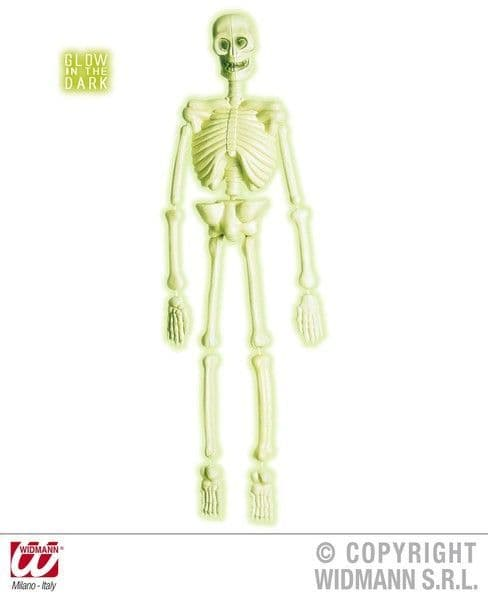 3D Gid Lab Skeletons 92cm Decoration Halloween Trick Or Treat Party