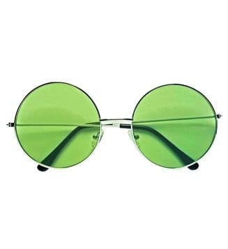 70s Glasses With Coloured Lenses Lennon 60s Hippie Fancy Dress