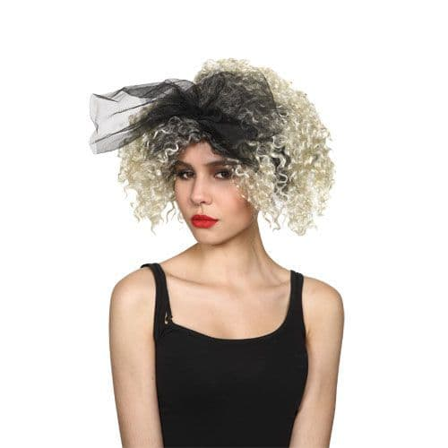 80s Material Girl Wig for 80s Disco Pop Retro Fancy Dress