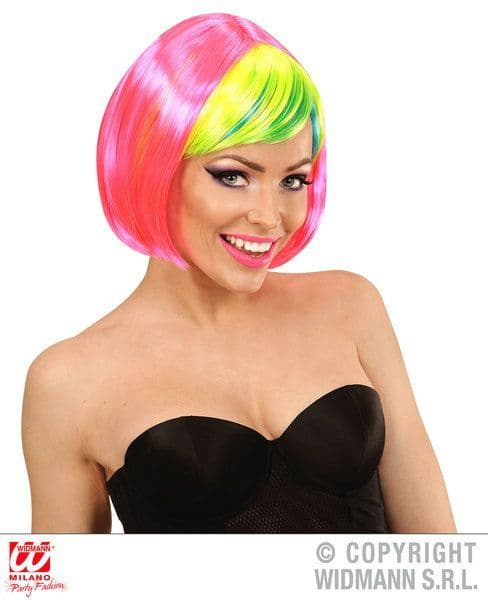 90s Clubbing Wig 90s Nineties Fancy Dress