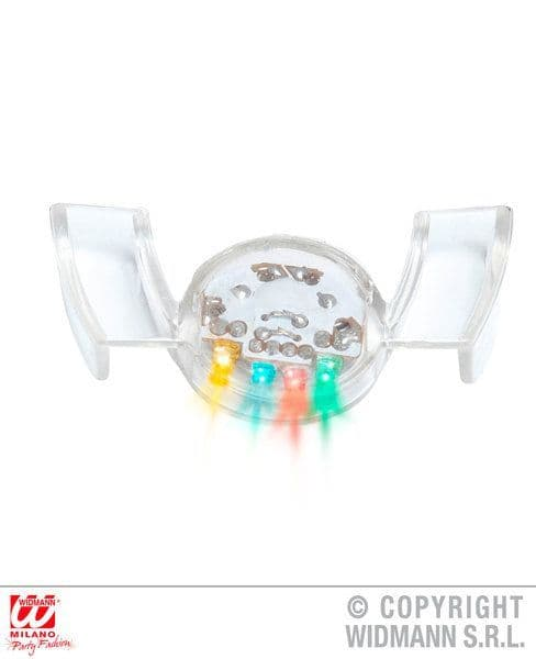 90s Rave Light Up Mouth Decoration 90s Nineties Party