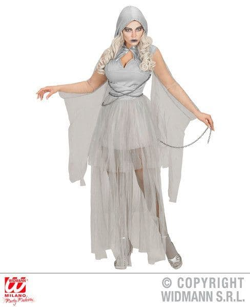 Adults Chained Ghostly Spirit Costume Fancy Dress