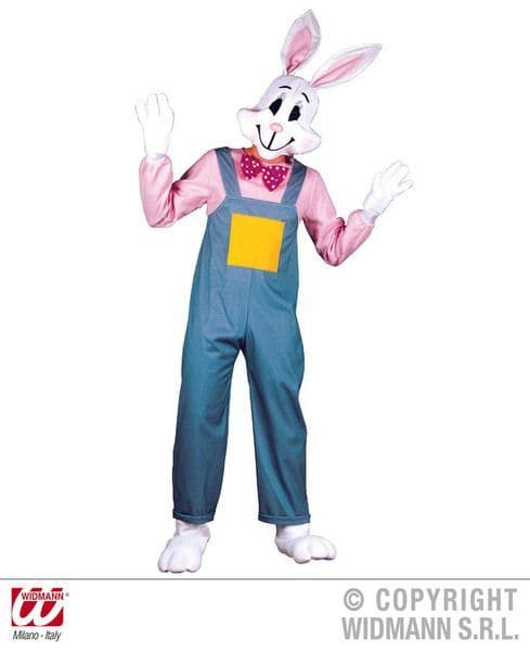 Adults Country Rabbit Costume Animal Fancy Dress