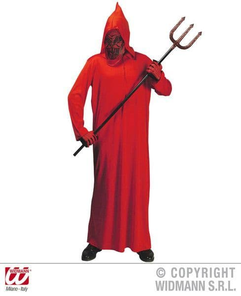 Adults Devil Costume Halloween Fancy Dress
