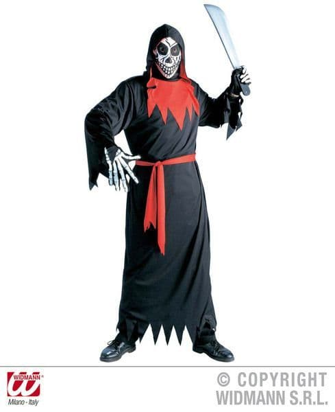 Adults Evil Phantom Costume Halloween Fancy Dress