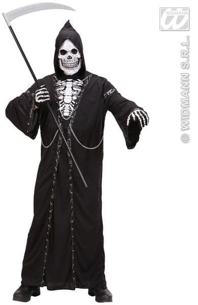 Adults Executioner Reaper Costume Halloween Fancy Dress