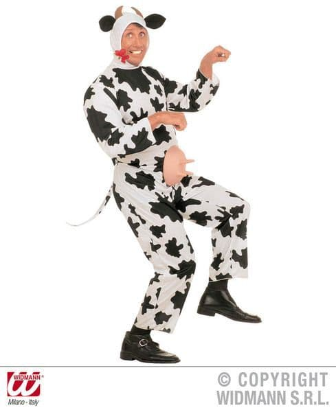 Adults Funny Cow Costume Animal Fancy Dress