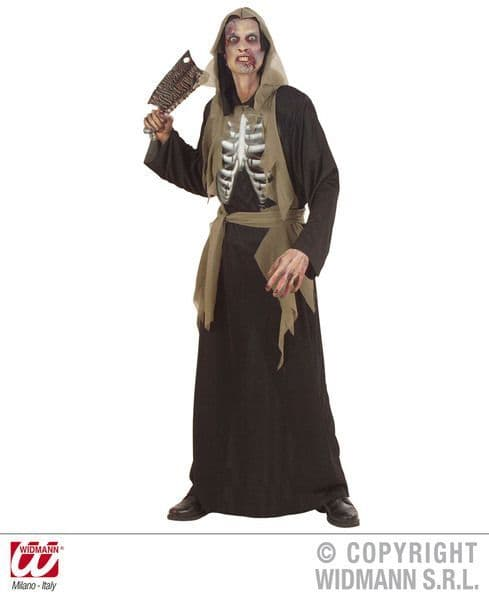 Adults Holographic Zombie Costume Halloween Fancy Dress