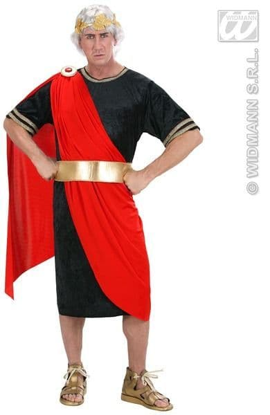 Adults Nerone Costume Roman Fancy Dress