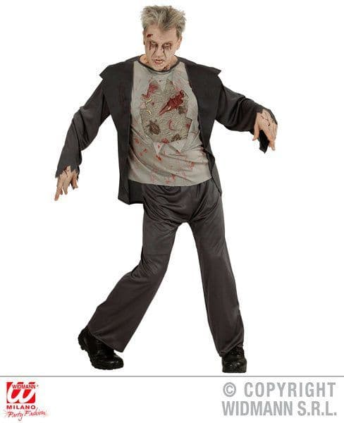 Adults Zombie Costume Halloween Fancy Dress
