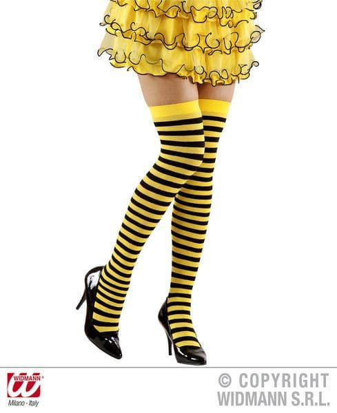 Bee Over The Knee Socks 70 Den Stockings Tights Pantyhose Lingerie Animal