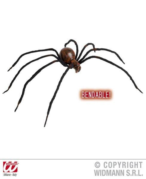 Bendable Bloody Spiders Halloween Decoration