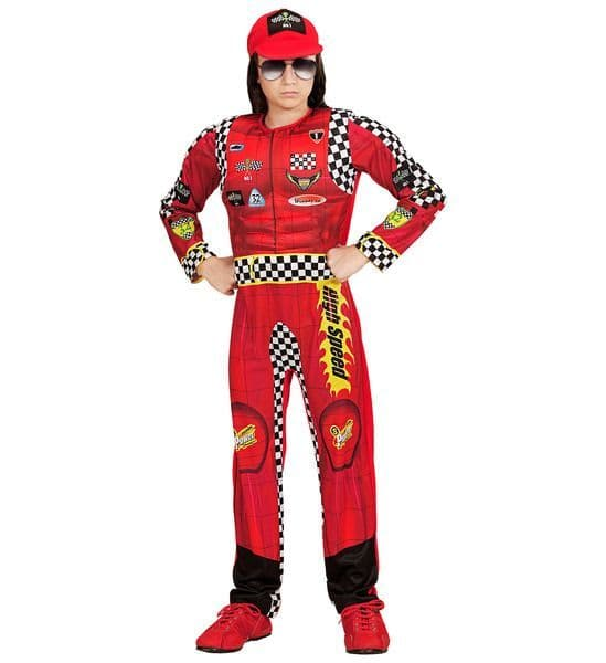 Boys Formula 1 Driver Costume Fancy Dress