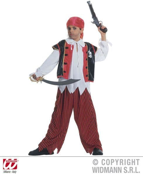 Boys Treasure Island Pirate Costume Pirate Fancy Dress
