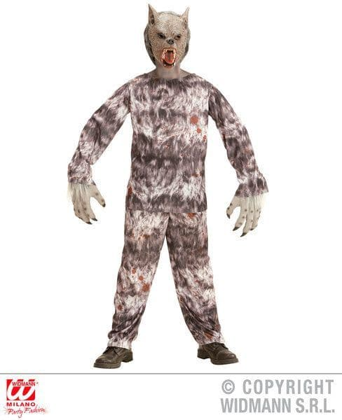 Boys Werewolf Costume Halloween Fancy Dress