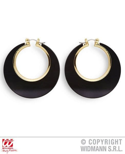 Disco Earrings Jewellery Fancy Dress