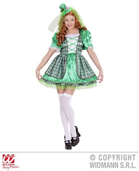 Ladies Irish Girl Costume St. Patrick's Day Fancy Dress