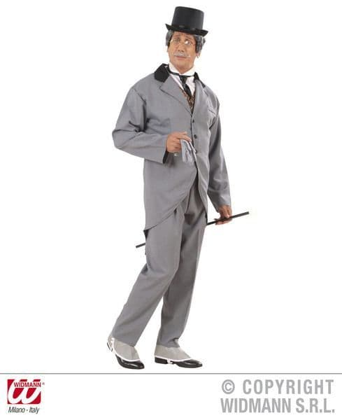Mens 19th Centuryury Gentleman Costume Fancy Dress