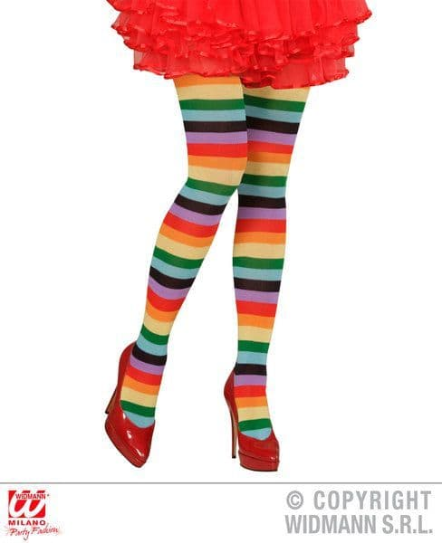 Rainbow Socks Pantyhose Stockings Tights Pantyhose Lingerie Fancy Dress