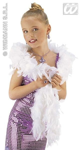 Shimmer Feather Boa Fancy Dress Accessory