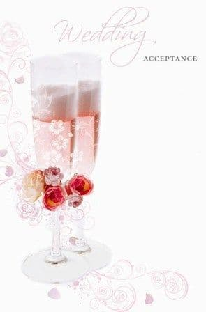 Acceptance Wedding Contemporary Single