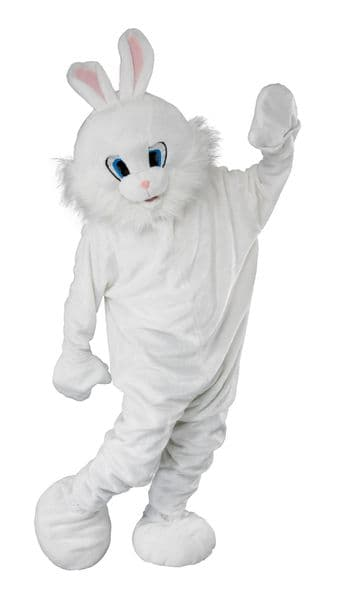 Adults Bunny Mascot Costume Rabbit Animals Easter Fancy Dress