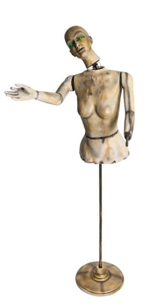 Animated Mannequin Fancy Dress Party Prop