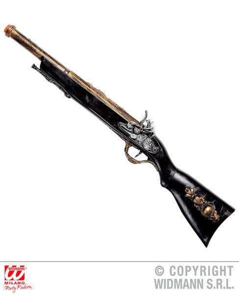 Authentic Pirate Rifle 56cm High Seas Buccaneer Hijacker Sailor Fancy Dress