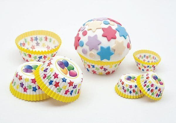 Balloon Cake Cups Large 75's