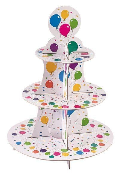 Balloon Cake Stand 3 Tiers Round